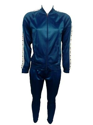 Tuta da ginnastica donna Diadora Light Suit Chromia poliestere blue tg XL