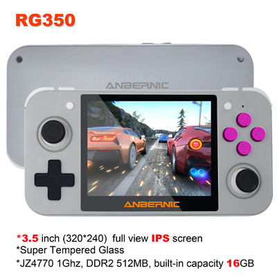 ANBERNIC RG350 IPS Retro Games 350 Video Games Upgrade Game Console Spielkonsole