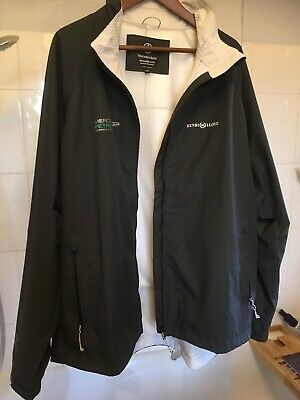 Mercedes Rare Petronas Waterproof Jacket XXL Team Issue Ross Brawn, Henri Lloyd