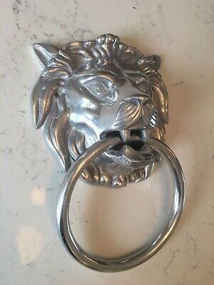 Lion Head Towel Ring