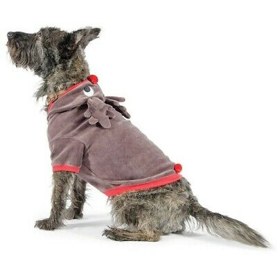 Ancol Christmas Dog Jumper - Warm & Cosy Cute Reindeer Xmas Sweater - Ideal Gift