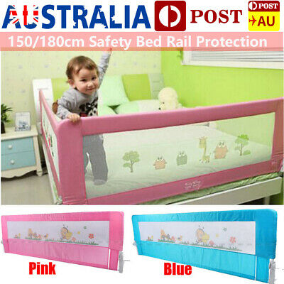 Child Toddler 1.5/1.8M Safety Bed Rail Baby Bedrail Fold Cot Guard Protection AU