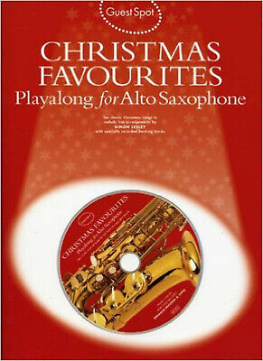 Guest Spot: Christmas Favourites Playalong For Alto Saxophone - Sheet Music, CD,