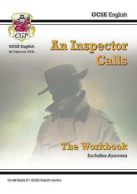 New GCSE English - An Inspector Calls Workbook (Includes Answers) by CGP