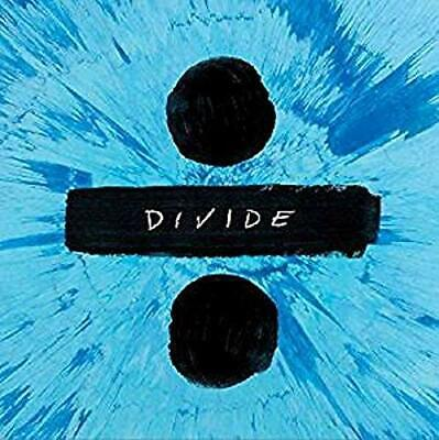 ED SHEERAN Divide (2017) 12-track CD album NEW/UNPLAYED