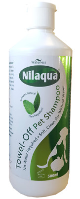 Waterless Natural Flea Repellent Pet Shampoo 500ml