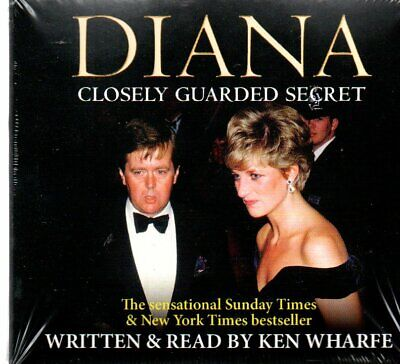 Diana: Closely Guarded Secret by Ken Wharfe (CD-Audio, 2017) New/Sealed