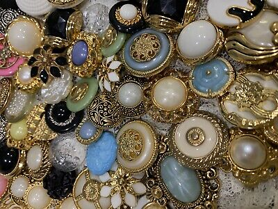 Vintage Look Sewing Buttons Lot of 100 #11705- **NEW OPTIONS - READ DESCRIPTION*