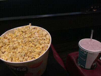 AMC Theaters Large Drink & Large Popcorn certificates exp 6/20 Quick Delivery