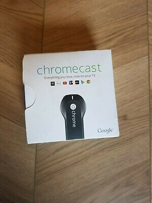 Google Chromecast Digital HD Media Streamer HDMI Wifi Black