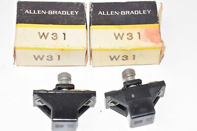 Lot of 2 NEW Allen Bradley P/N: W31 Overload Relay Heater Elements