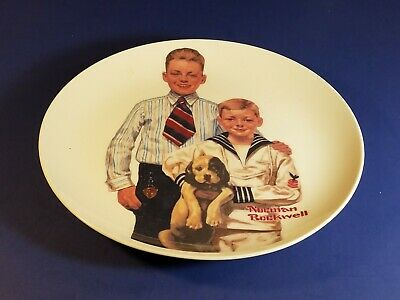 Norman Rockwell Sunday Best Commemorative Plate