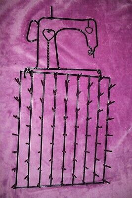Vintage Wire Sewing Thread Spool Holder