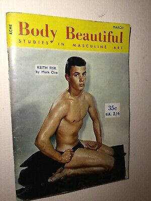 Vintage Body Beautiful Magazine Muscle Bodybuilding Gay Interest Issue Nr 8