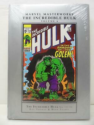 Marvel Masterworks The Incredible Hulk 6 Hardcover Book - Sealed - Near Mint