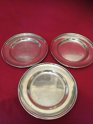 Vintage Walker & Hall English Sheffield A1 Silver Plated Dishes x 3 Heavy Gauge