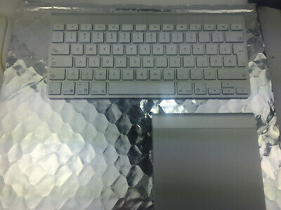 Apple  wireless keyboard a1314 + magic trackpad a1339 .combo