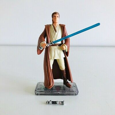 Star Wars Obi-Wan Kenobi Action Figure Jedi Knight Ewan McGregor 1998 CommTech