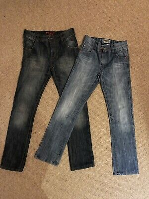 2 X Boys Next Regular Straight Leg Jeans 12 Years 152cm