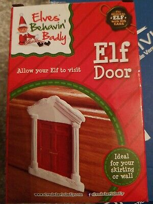 Elf On The Shelf Elf Tooth Fairy Door Ideas Kit Christmas Games Accessories