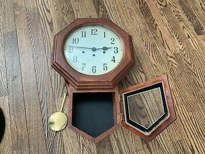 Franz Hermle key wound wall clock LOCAL PICK UP ONLY PHILADELPHIA AREA!