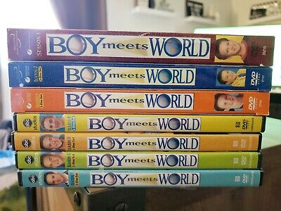Boy Meets World: The Complete Collection (DVD, 2013, 22-Disc Set) Seasons 1-7