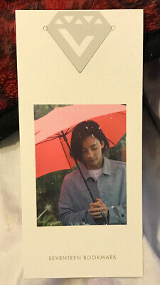Seventeen Jeonghan Love & Letter Bookmark Photocard