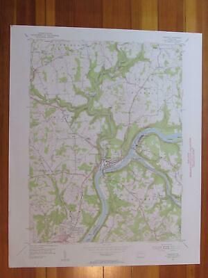 Freeport Pennsylvania 1955 Original Vintage USGS Topo Map