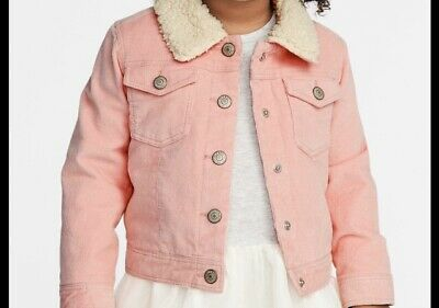 OLD NAVY Toddler Girls Corduroy PINK Jacket Coat Size 5T NWT