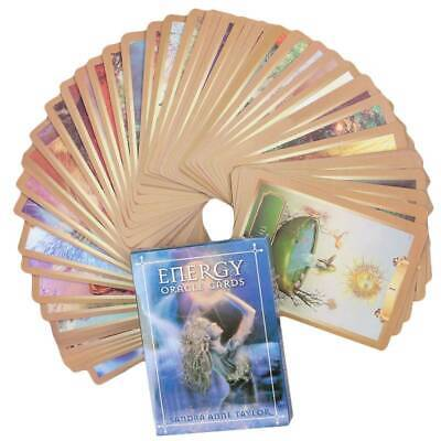 Energy & Power Oracle Cards Magic Tarot Cards Deck Sets Divination Guidance GAME