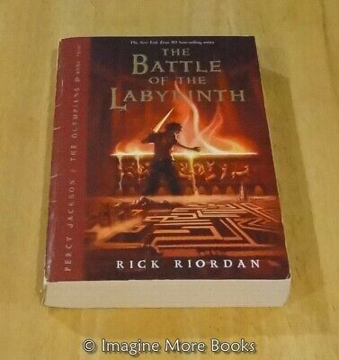 Battle of the Labyrinth by Rick Riordan ~Percy Jackson and the Olympians #4~ TPB