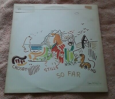 "Crosby, Stills, Nash & Young ""So Far"" Vinyl LP"