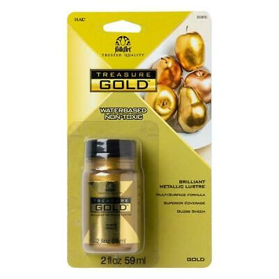 PLAID TREASURE Liquid Leaf Leafing Paint 2 OZ in Gold, Rose Gold and Copper