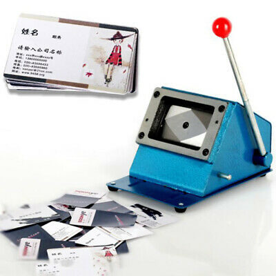 Manual PVC business ID card cutter machine Rounded business card cutting machine