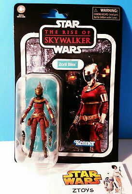 """New! Star Wars The Vintage Collection Rise of Skywalker 3.75"""" ZORII BLISS VC157"""