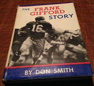 FRANK GIFFORD STORY 1960 book NEW YORK GIANTS - USC TROJANS Southern California