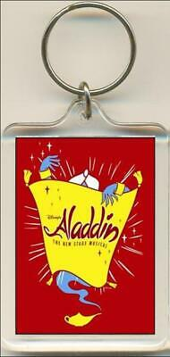 Aladdin. Musical, Movie, Pantomime. Keyring. 5 Images available.