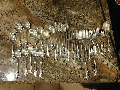 Vintage Towle Old Master Sterling Silver Flatware Set 32 pieces 1223 grams