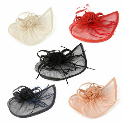 Large Headband and Clip Hat Fascinator Weddings Ladies Day Race Royal Ascot Gift