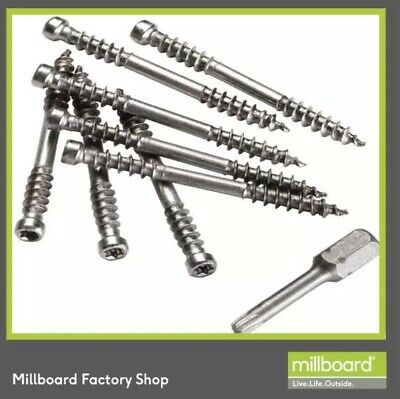 Millboard Invisible Decking Screws CHEAP