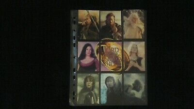 Lotr trading cards return of the king