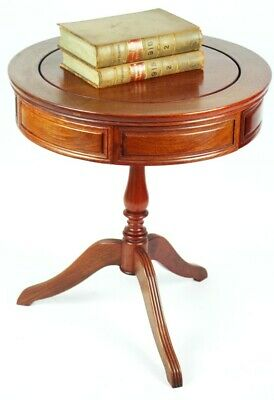 Vintage Regency Style Drum Table - FREE Shipping [5115 A ]