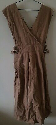 🍭 GENUINE Vintage Pinafore Dress. 1980s. Cotton. Great Cond. Rarely Worn.