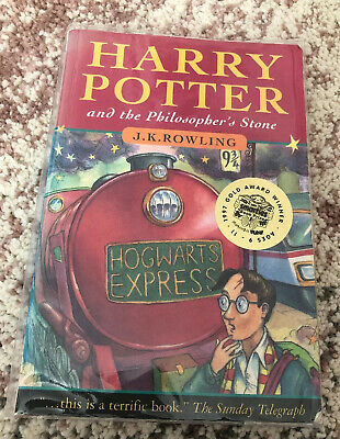 ** HARRY POTTER AND THE PHILOSOPHERS STONE PAPERBACK 1st EDITION 15th PRINT **