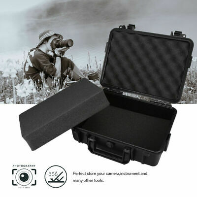 Large Hard Flight Case Foam Camera Photography Carry Storage Tool BOX w/ Foam