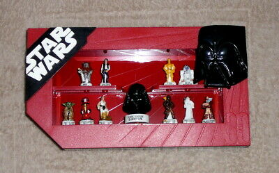 RARE Coffret de 11 Fèves en porcelaine STAR WARS 2007