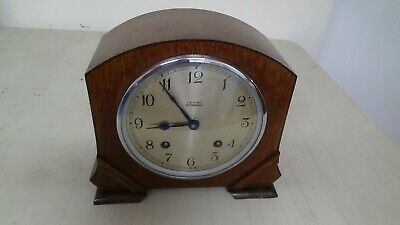 Vintage Garrard 1930'S Deco Period 2 Train Clock Runner