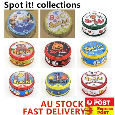 Spot It Dobble Find It Board Card Game For Family Gathering Xmas Party Toy Gift