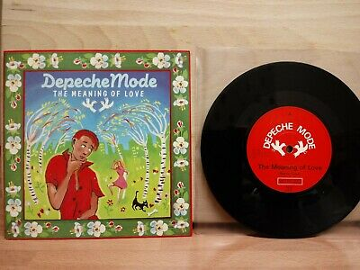 "Depeche Mode - The Meaning Of Love - 7"" Single 1982"