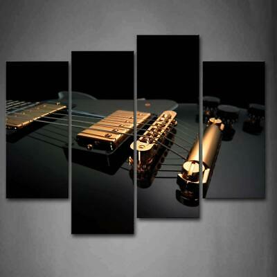 Classical Electric Guitar Modern Painting Canvas Poster Art Wall Home Decor